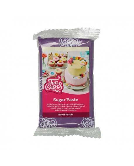Masa cukrowa Fun Cakes MOCNY FIOLET 250 g Royal Purple
