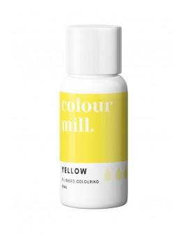Barwnik olejowy Colour Mill 20ml YELLOW Żółty