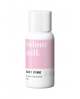 Barwnik olejowy Colour Mill 20ml BABY PINK Słodki Róż
