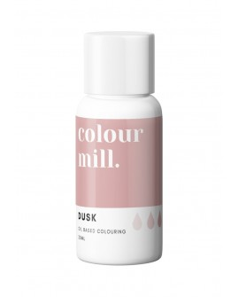 Barwnik olejowy Colour Mill 20ml DUSK Pudrowy Ciemny