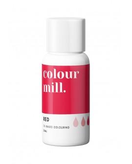 Barwnik olejowy Colour Mill 20ml RED Czerwony