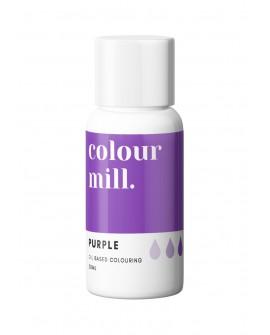Barwnik olejowy Colour Mill 20ml PURPLE Fioletowy