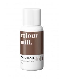 Barwnik olejowy Colour Mill 20ml CHOCOLATE Brąz Czekoladowy