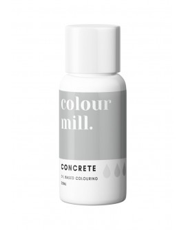 Barwnik olejowy Colour Mill 20ml CONCRETE Szary