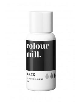 Barwnik olejowy Colour Mill 20ml BLACK Czarny