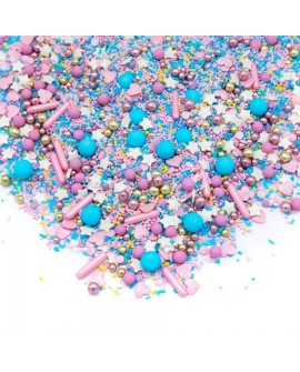 Posypka Happy Sprinkles MIKS Cotton Candy