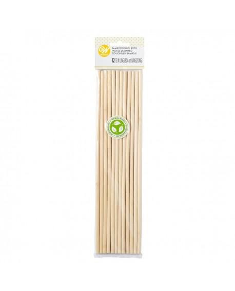 Wsporniki bambusowe Wilton 12 szt