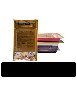 Masa cukrowa Irca Rainbow CZARNA 1 kg lukier plastyczny do obkładania i dekoracji