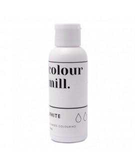Barwnik olejowy Colour Mill 100 ml WHITE Biały