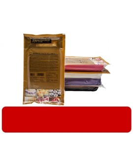 Masa cukrowa Irca Rainbow CZERWONA 1 kg lukier plastyczny do obkładania i dekoracji