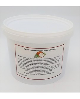 Chrupiąca masa pralinowa Grejt Kejk KOKOSOWA 0,5 kg