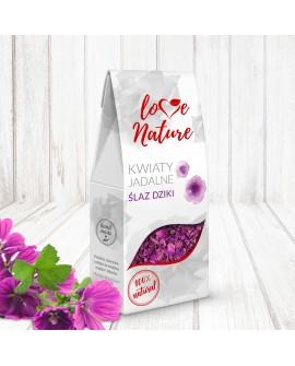 Kwiaty jadalne Love Nature Ślaz Dziki Malwa 15g