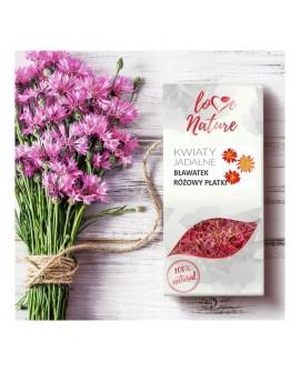 Kwiaty jadalne Love Nature Bławatek Różowy 10g