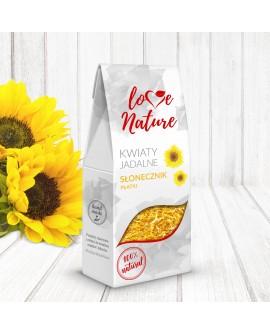 Kwiaty jadalne Love Nature Słonecznik 15g