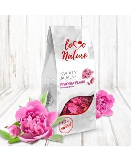 Kwiaty jadalne Love Nature Piwonia 10g