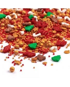 Posypka Happy Sprinkles SANTA 90g Świąteczna