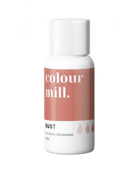 Barwnik olejowy Colour Mill 20ml RUST Rdza