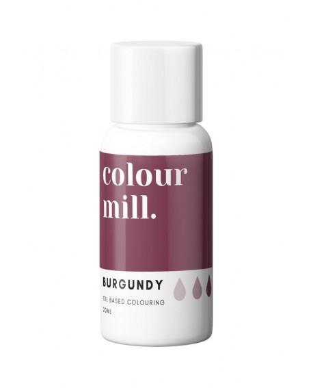 Barwnik olejowy Colour Mill 20ml BURGUNDY Bordowy