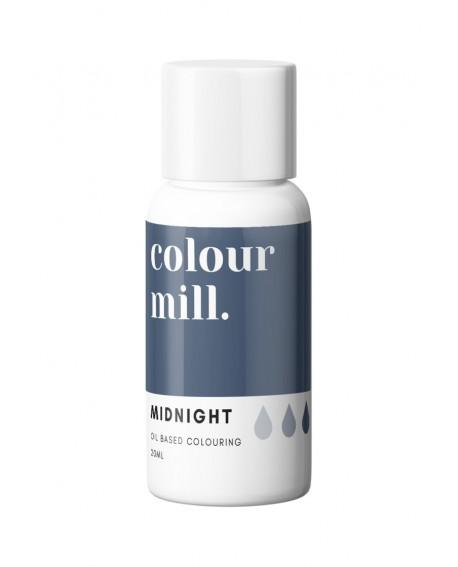 Barwnik olejowy Colour Mill 20ml MIDNIGHT Niebieska Północ