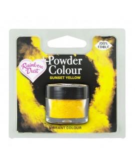 Barwnik pyłkowy matowy ŻÓŁTY ZACHÓD SŁOŃCA RD Sunset Yellow