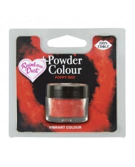 Barwnik pyłkowy matowy CZERWIEŃ MAKU RD Poppy Red