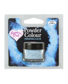 Barwnik pyłkowy matowy NIEBIESKI BARWINEK RD Periwinkle Blue