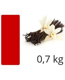 Masa cukrowa Smartflex Velvet CZERWONA 0,7 kg WANILIOWA  do obkładania i dekoracji lukier plastyczny