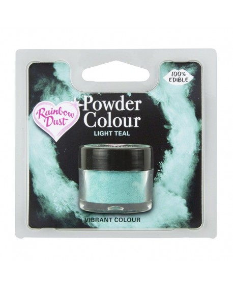 Barwnik pyłkowy matowy TURKUSOWY RD Light Teal