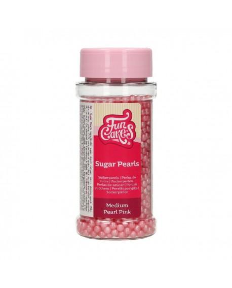 Posypka Fun Cakes 80 g PEREŁKI RÓŻOWE perłowe