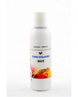 Barwnik do aerografu BIAŁY 135 ml Food Colours