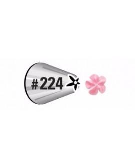 Tylka do kwiatów nr 224 Wilton końcówka dekoratorska kwiat, gwiazdka, róża 418-224
