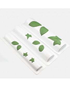 Forma do modelowania i formowania liści, kwiatów, płatków z masy cukrowej JEM