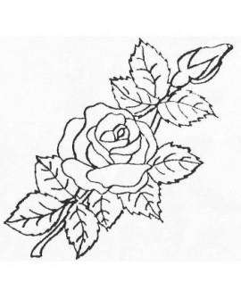 Wykrawaczka Patchwork RÓŻA HERBACIANA Kwiat Różyczka