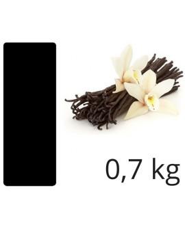 Masa cukrowa Smartflex Velvet CZARNA 0,7 kg WANILIOWA do obkładania i dekoracji Lukier plastyczny