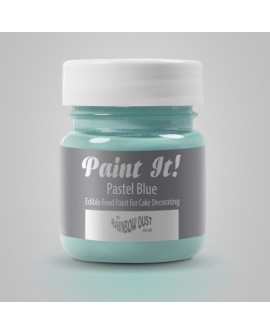 Farbka matowa PASTELOWA NIEBIESKA Rainbow Dust Paint It