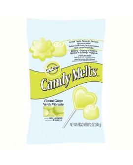 Dropsy czekoladowe Wilton Candy Melts LIMONKOWE