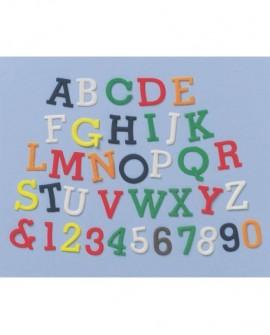 Wykrawaczki FMM duże litery i cyfry UPPER CASE Alfabet