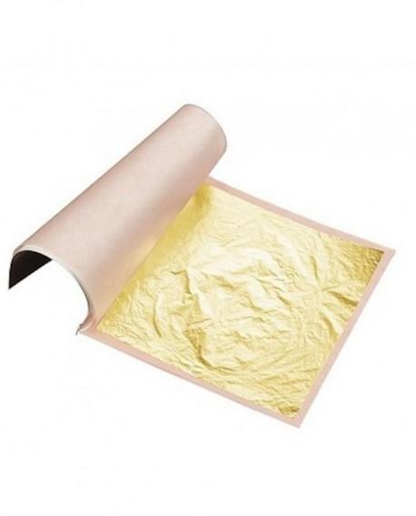 LISTEK ZŁOTA Sugarflair 24 karaty Złoto w listku