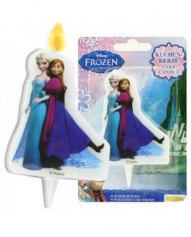 Świeczka KRAINA LODU Frozen Elsa i Anna
