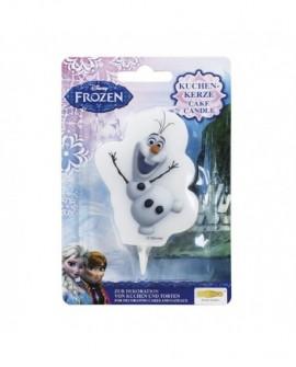 Świeczka KRAINA LODU Frozen Olaf
