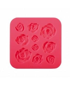 Forma silikonowa RÓŻE Kwiaty różyczki