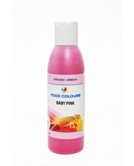Barwnik do aerografu RÓŻOWY BABY PINK 135 ml Food Colours