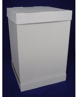 Opakowanie na tort piętrowy 30x30 cm WYSOKOŚĆ 45 cm Pudełko wysokie