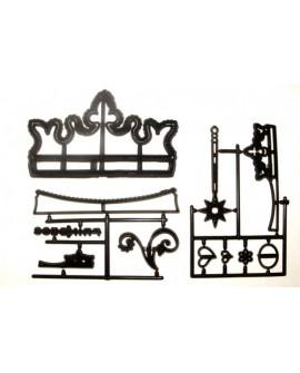Wykrawaczka Patchwork KORONA TIARA Księżniczka