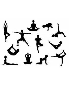 Wykrawaczka Patchwork Cutters JOGA POZYCJE Foremka Postacie Sylwetki Yoga
