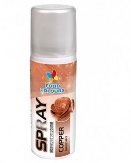 Barwnik w sprayu Food Colours MIEDZIANY 50 ml Spray Miedź