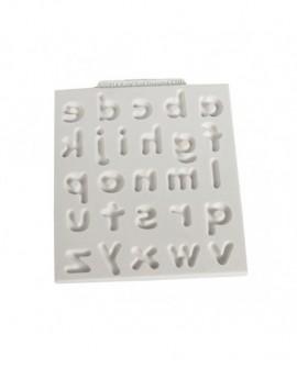 Forma silikonowa Katy Sue ALFABET ZAOKRĄGLONY Małe litery