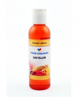Barwnik do aerografu ŻÓŁTY SŁONECZNY 135 ml Food Colours