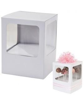 Pudełko na lizaki, cake popsy 2 szt. Wilton 415-1502 Opakowanie na lizaki beziki cake pops