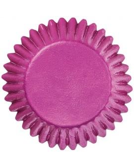Papilotki BON BON Wilton RÓŻOWE 75 szt na czekoladki, pralinki, trufle 25 mm